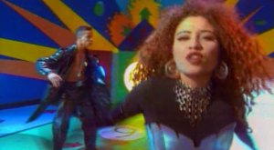 This is 2 Unlimited, singing their 1993 hit 'No Limit.'